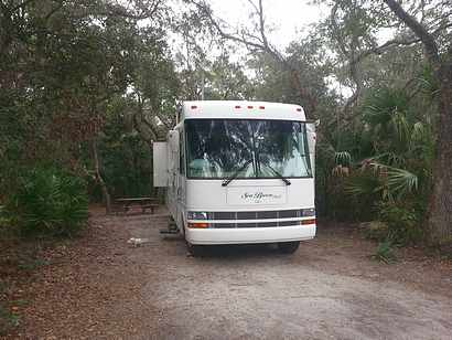 In Anastasia State Park near St. Augustine, FL